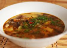 Похлебка из фасоли и замороженных овощей (пошаговый фото рецепт)