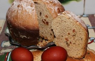 Кулич Пасхальный в хлебопечке  (пошаговый фото рецепт)