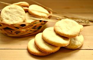 Песочное печенье на майонезе (пошаговый фото рецепт)
