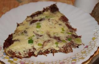 Тушенка с яйцами (пошаговый фото рецепт)