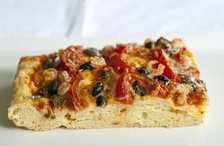 Пицца с креветками (пошаговый фото рецепт)