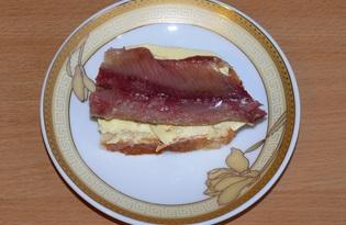 Сайра домашнего посола (пошаговый фото рецепт)