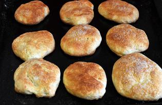 Дрожжевые булочки «Сахарные» (пошаговый фото рецепт)