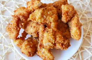 Курица в панировке (пошаговый фото рецепт)