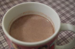 "Напиток ""Какао на молоке"" (пошаговый фото рецепт)"