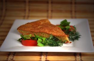 Заливной пирог с овощами (пошаговый фото рецепт)