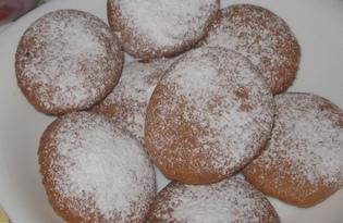 Тыквенное печенье с имбирем (пошаговый фото рецепт)
