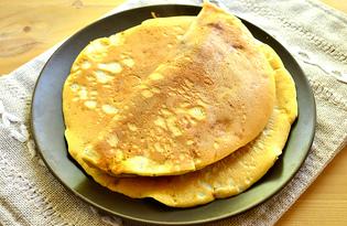 Пышные маковые блины на маргарине и молоке (пошаговый фото рецепт)
