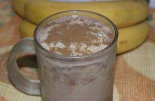 Какао напиток с бананом (пошаговый фото рецепт)