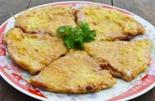Вафельные коржи с фаршем (пошаговый фото рецепт)