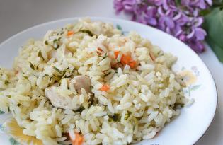 Куриный плов на сковороде (пошаговый фото рецепт)