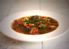 Лапландский суп из оленины (пошаговый фото рецепт)