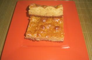 Простой пирог с творогом (пошаговый фото рецепт)