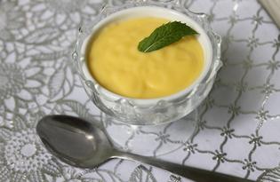 Заварной крем на желтках (пошаговый фото рецепт)