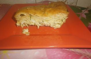 Пирог с молодой капустой (пошаговый фото рецепт)