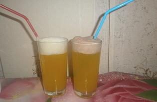 Безалкогольный напиток «Снежный ком» (пошаговый фото рецепт)
