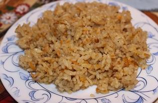 Рис с соевым соусом и прованскими травами в мультиварке (пошаговый фото рецепт)