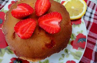 Панкейки с клубникой и цедрой лимона (пошаговый фото рецепт)