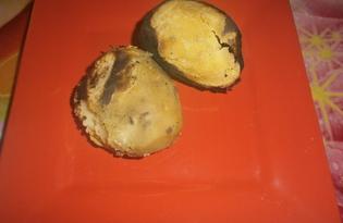 Печеная картошка на углях (пошаговый фото рецепт)