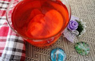 Компот из клубники с лимоном (пошаговый фото рецепт)
