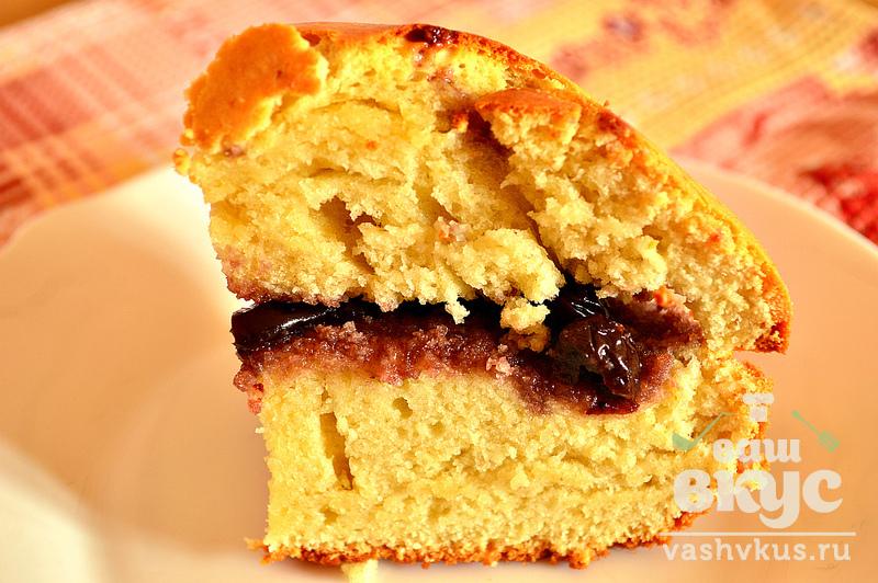 Высокий бисквит рецепт пошагово 13