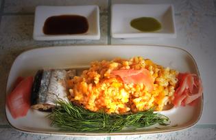 Рисовая каша с тыквой и томатом (пошаговый фото рецепт)