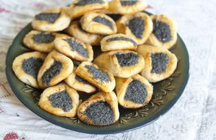 """Печенье """"Маковые лапки"""" (пошаговый фото рецепт)"""
