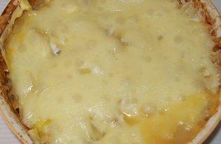 Овощная запеканка с макаронами и сыром (пошаговый фото рецепт)