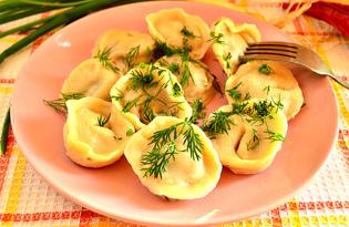 Уральские пельмешки (пошаговый фото рецепт)