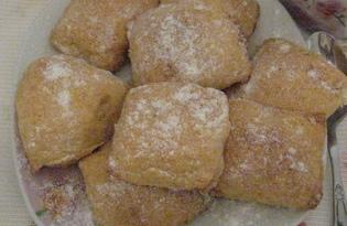 Сладкое печенье с творогом (пошаговый фото рецепт)