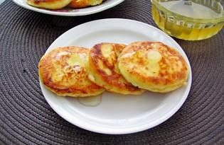 Медово - ванильные сырники (пошаговый фото рецепт)