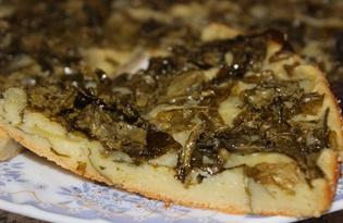 Пирог со щавелем в духовке (пошаговый фото рецепт)