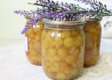 Варенье из белой черешни с лимоном (пошаговый фото рецепт)