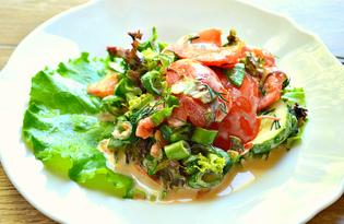 Овощной салат для пикника (пошаговый фото рецепт)