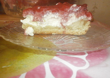 Пирог с клубникой и творогом (пошаговый фото рецепт)