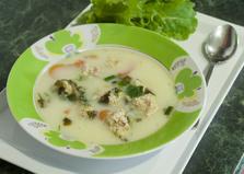Суп с куриными фрикадельками и овощами (пошаговый фото рецепт)