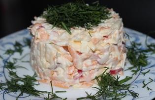 Салат с редисом, морковью, сыром и яблоком (пошаговый фото рецепт)