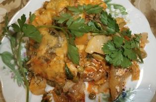 Овощное рагу с сыром в духовке (пошаговый фото рецепт)