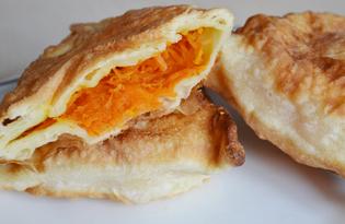 Пирожки с морковью на кефире (пошаговый фото рецепт)
