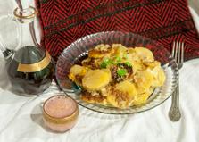 Картофель запеченый с етостом