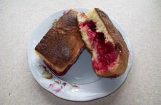 Пироги на йогурте с вишней (пошаговый фото рецепт)