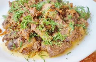 Свинина тушеная в молоке и соевом соусе (пошаговый фото рецепт)
