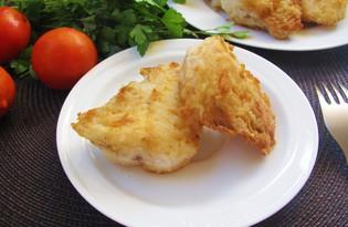 Рыба в панировке с паприкой (пошаговый фото рецепт)