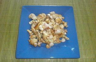 Куриный шашлык в микроволновке (пошаговый фото рецепт)