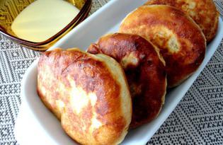 Вкусные пончики с малиной (пошаговый фото рецепт)
