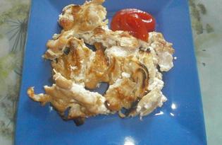 Куриные ножки с майонезом и соевым соусом в микроволновке (пошаговый фото рецепт)