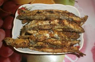 Жареная мойва на сковороде (пошаговый фото рецепт)