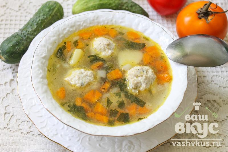 Суп с фрикадельками и сельдереем пошаговый рецепт с