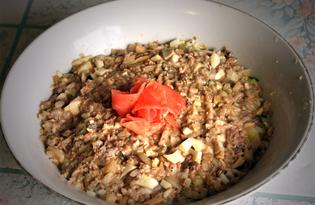 Салат из сайры с огурцом (пошаговый фото рецепт)