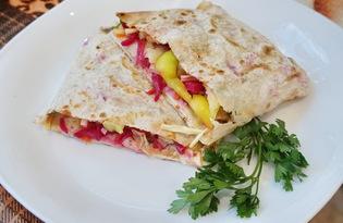 Вегетарианская шаурма (пошаговый фото рецепт)